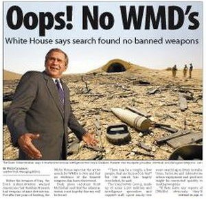 No WMDs in Iraq