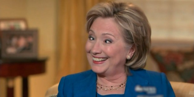 Hillary Clinton Crazy Eyes