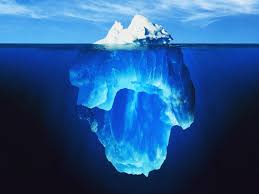 iceberg is hidden