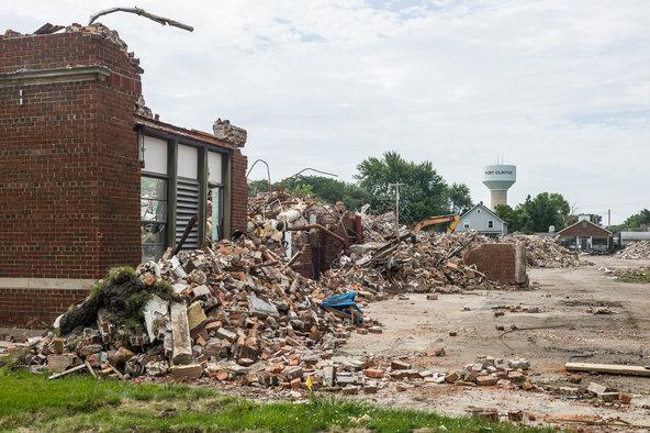 School crumbling
