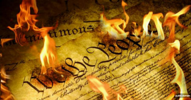 constitution burns